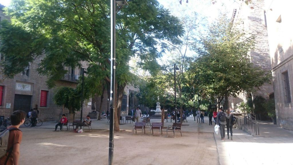 antic hospital santa creu barcelone