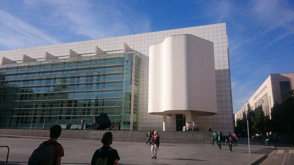 musée d'art contemporain de Barcelone