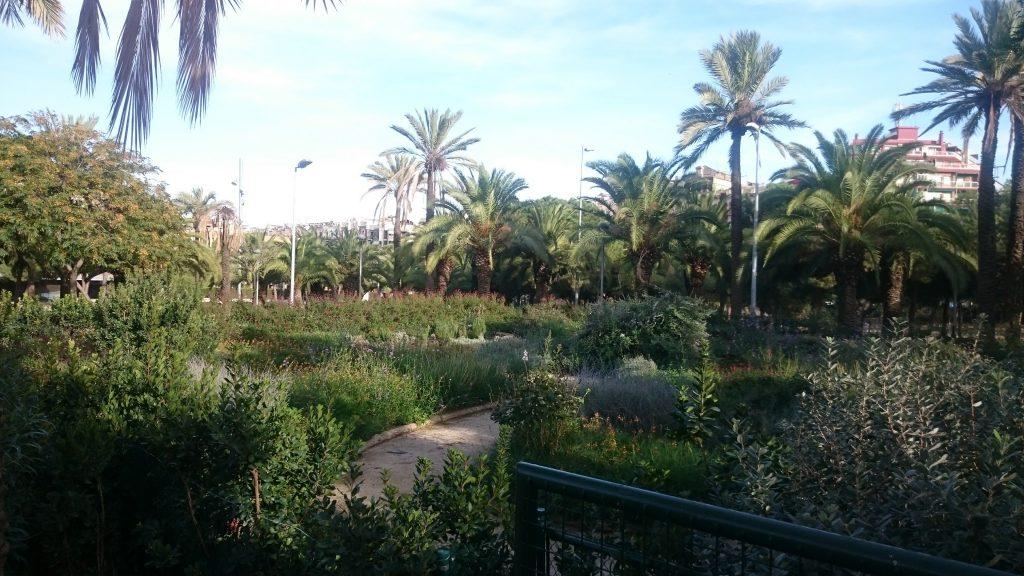 Parc Miro Barcelone