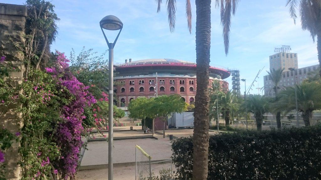 arenes parc miro barcelone