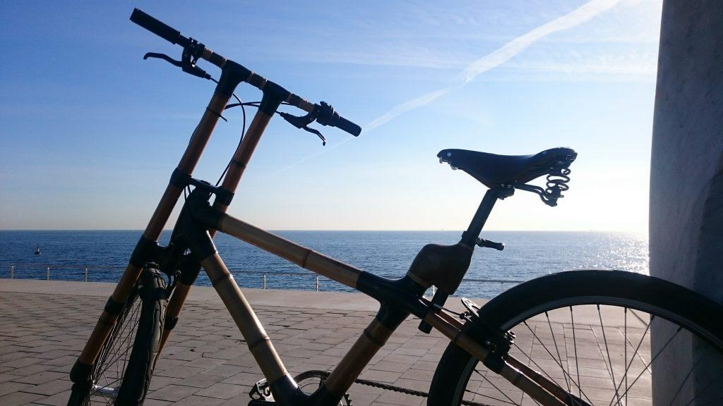 vélo parvis hotel w barcelone