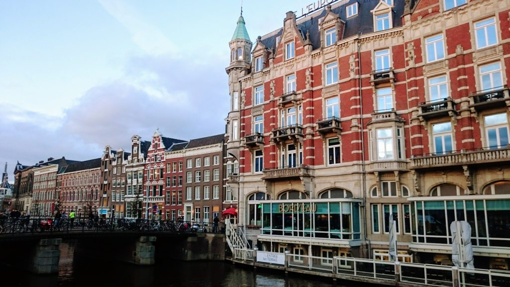 Amsterdam Canal Rokin