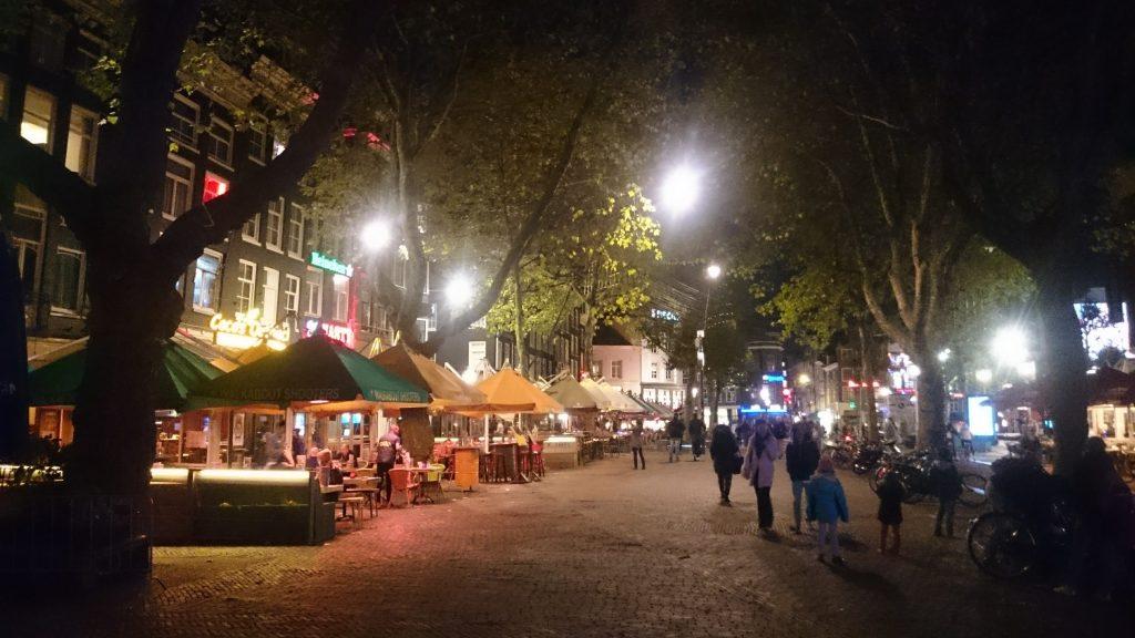 rembrandt plein Amsterdam