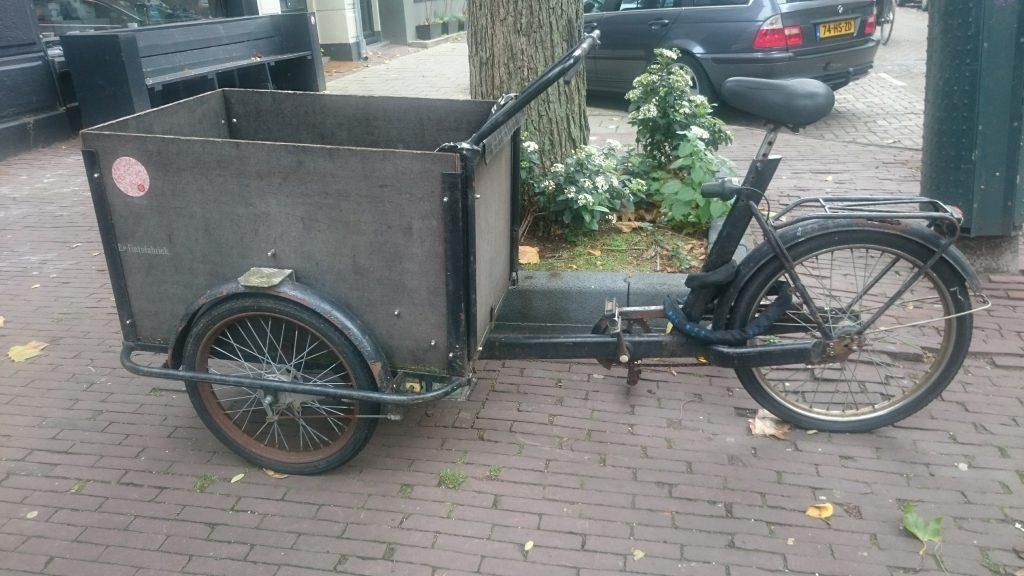 vélo spécial livraison amsterdam