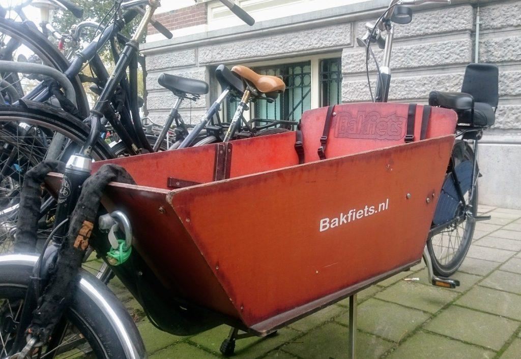 vélo spécial trois enfants amsterdam