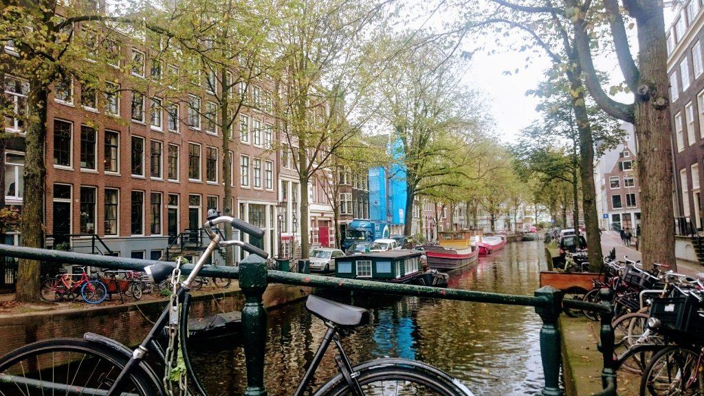pont vélo Amsterdam