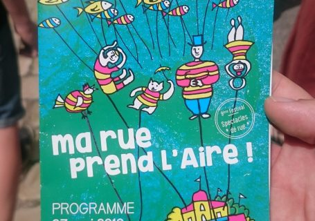 Le programme détaillé du festival Ma rue Prend l'Aire