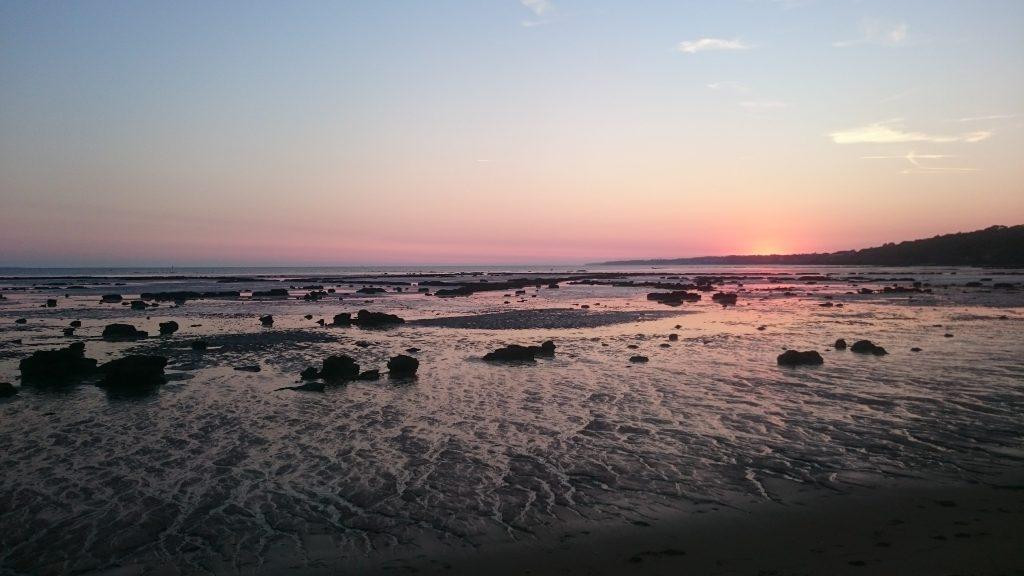 coucher soleil pornic