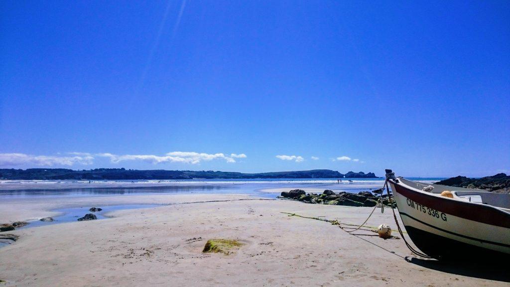la plage deKersiguénou