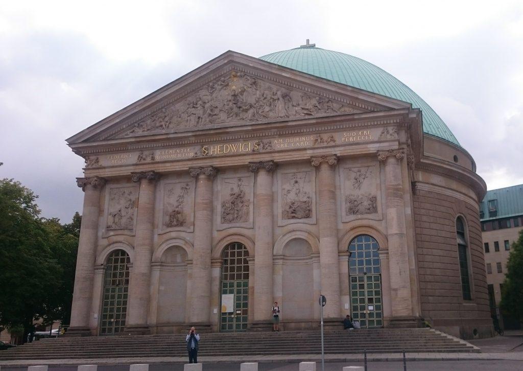 Cathédrale Sainte-Edwige Berlin