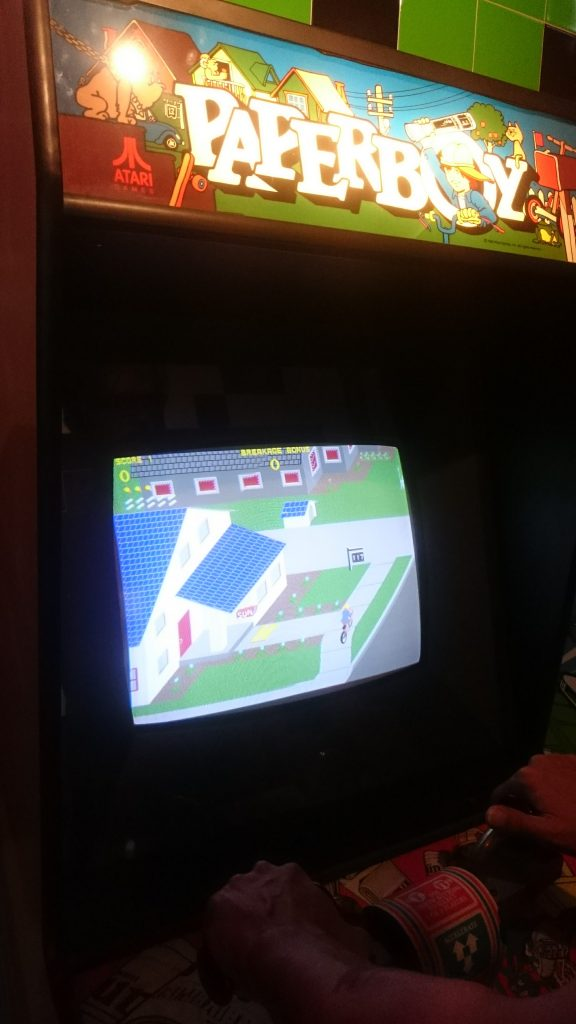 paperboy computerspiele museum berlin