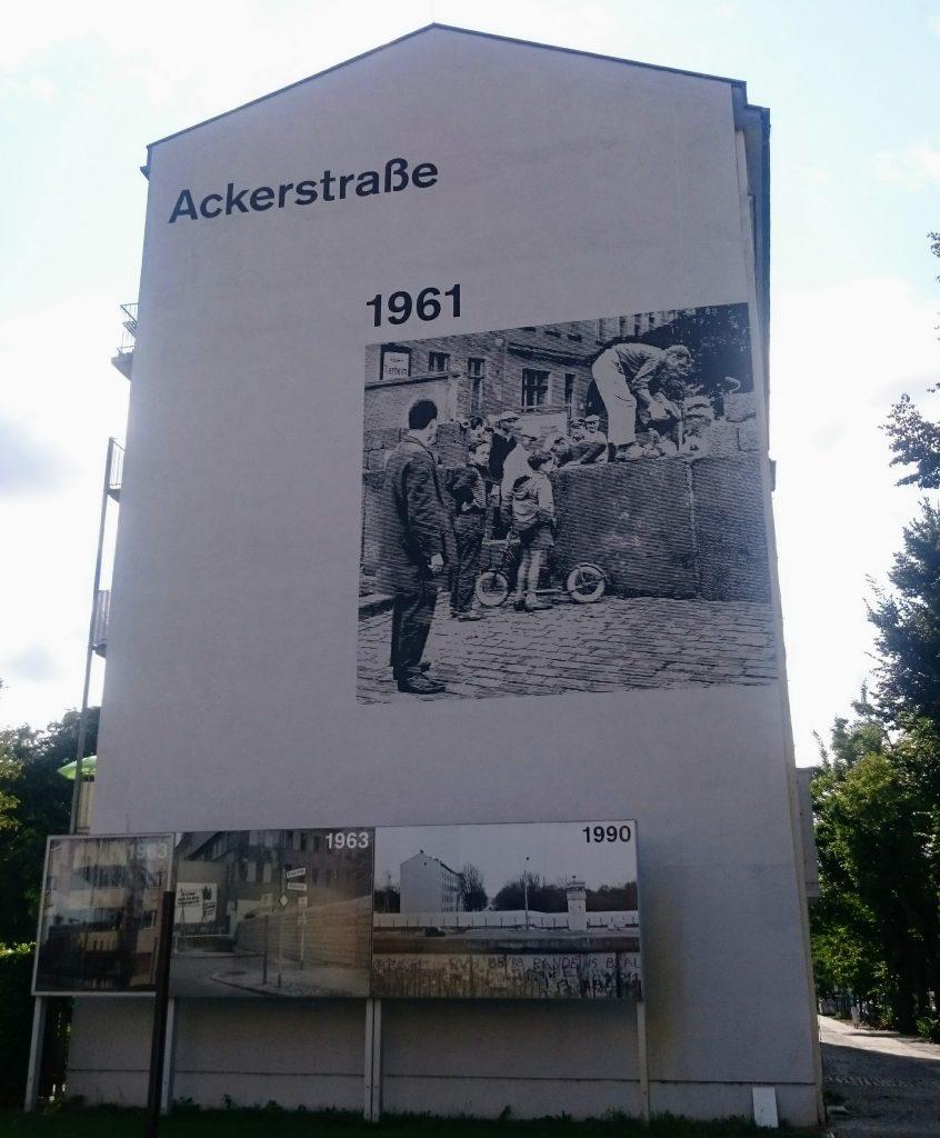 mémorial du mur berlin