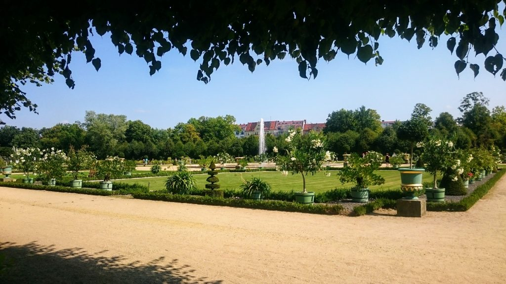 jardins chateau charlottenbourg berlin