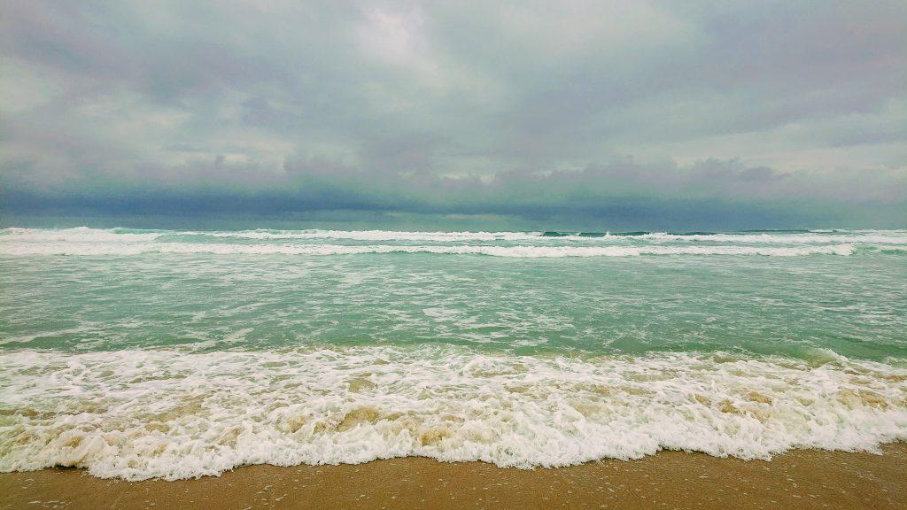 pluie mimizan ocean