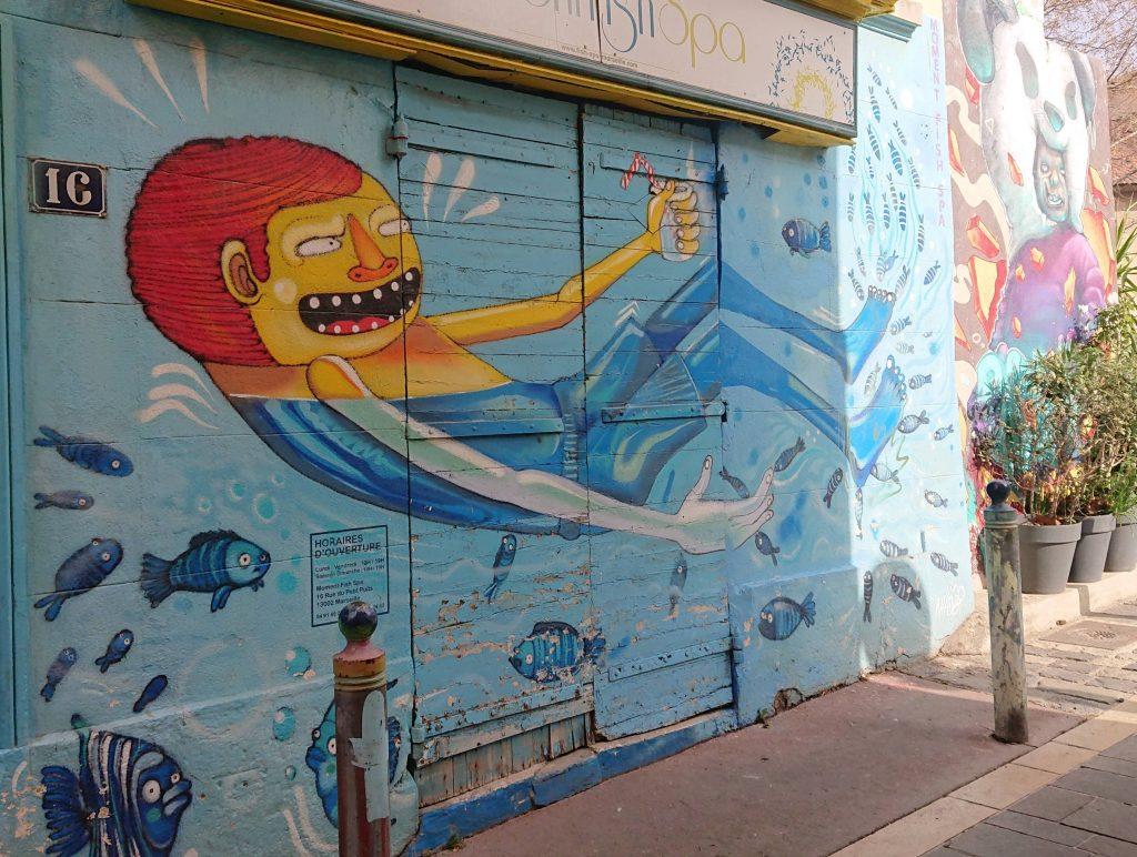 streetart panier marseille